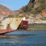 Koolan Island (off a barge)