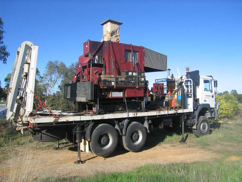 22 tonne track truck probedrill geotechnical investigation. Black Bedroom Furniture Sets. Home Design Ideas