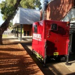 Narrow access at Fremantle Primary